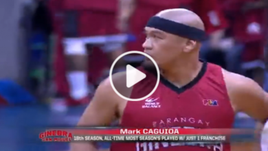 Photo of WATCH: Mark Caguioa makes it official! 18 seasons with Brgy. Ginebra!