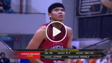 Photo of WATCH: Jerrick Balanza's first points in the PBA!