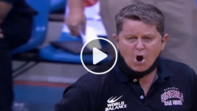 Photo of WATCH: Tim Cone loses cool, dares referee to throw him out of the game!