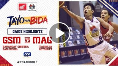 Photo of WATCH: Brgy. Ginebra vs Magnolia Game Highlights [October 25, 2020]