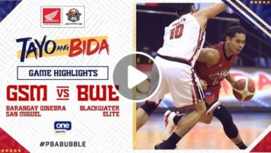 Photo of WATCH: Brgy. Ginebra vs Blackwater Game Highlights [October 15, 2020]