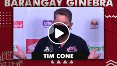 Photo of WATCH: Tim Cone Post-Game interview [Brgy. Ginebra vs Phoenix Super LPG | October 21, 2020]