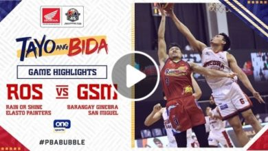 Photo of WATCH: Brgy. Ginebra vs Rain or Shine Game Highlights [October 27, 2020]