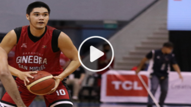 Photo of WATCH: Arvin Tolentino drains 2 triples in Bubble Clasico!