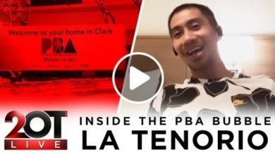 Photo of WATCH: LA Tenorio – Inside the PBA Bubble!