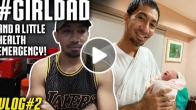 Photo of WATCH: I am now a #GirlDad! And a little health emergency! [LA Tenorio VLOG #2]