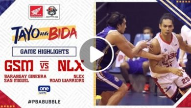 Photo of WATCH: Brgy. Ginebra vs NLEX Game Highlights [October 11, 2020]