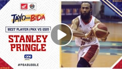Photo of WATCH: Best Player – Stanley Pringle [Brgy. Ginebra vs Phoenix Super LPG | October 21, 2020]