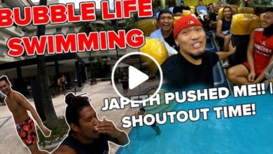 Photo of WATCH: PBA Bubble Life Day 12 [ Swimming time! | Shoutout time]