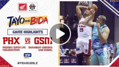 Photo of WATCH: Brgy. Ginebra vs Phoenix Super LPG Game Highlights [October 21, 2020]
