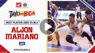 Photo of WATCH: Best Player – Aljon Mariano [Brgy. Ginebra vs NLEX | October 11, 2020]