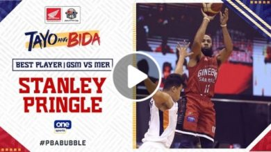 Photo of WATCH: Best Player – Stanley Pringle [Brgy. Ginebra vs Meralco | October 18, 2020]