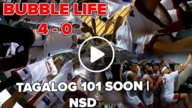Photo of WATCH: PBA Bubble Life Day 15 [4th WIN | Tagalog 101 Incoming]
