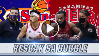 Photo of WATCH: Brgy. Ginebra vs Rain or Shine [2020 Philippine Cup | October 27, 2020]