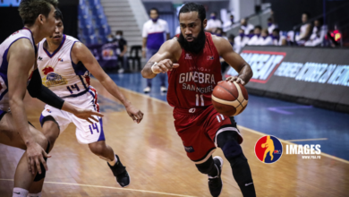 Photo of Brgy. Ginebra absorbs first loss in PBA restart