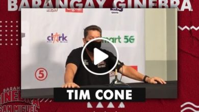 Photo of WATCH: Tim Cone Post-Game interview [Brgy. Ginebra vs Meralco | October 18, 2020]